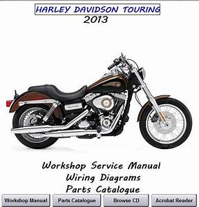 Harley Davidson Touring Workshop Service Manual 2013 All