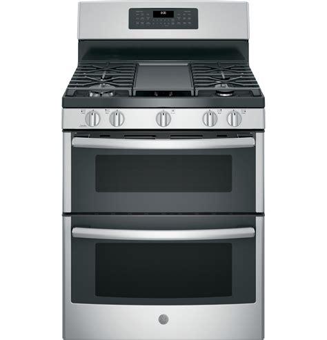 ge 174 30 quot free standing gas oven convection range jgb860sejss ge appliances