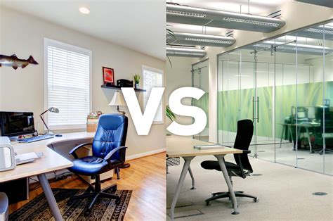Office Space Vs The Office by Home Working Vs Office Working Procol