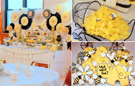 baby shower bee theme bugs gender neutral boy and girl baby showers gender