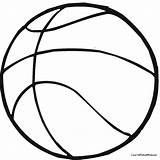 Coloring Basketball Pages Colouring Hoop Ball Preschool Printable Template Sports Teams Drawing Printables Party Sheets Jersey Google Clipartmag Crafts Getcoloringpages sketch template