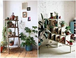 Plante De Salon : des plantes vertes dans le salon cocon d co vie nomade ~ Teatrodelosmanantiales.com Idées de Décoration