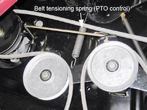 Troy Bilt Super Bronco 46 Deck Belt Replacement