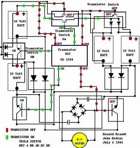 What Is The Circuit Diagram Of Tesla U0026 39 S Battery Charging