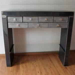 meuble console contemporaine table de lit With console avec tiroir meuble entree 15 petite table dappoint avec tiroir lamaisonplus