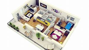 Sweet Home 3d En Ligne : photo realistic 3d floor plan arch ~ Premium-room.com Idées de Décoration