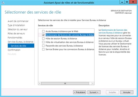 installer portail orange sur le bureau windows server 2012 remote desktop service