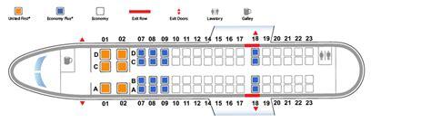 le siege de l ua bombardier crj 700 cr7 united airlines