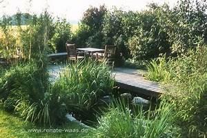 Kleiner Teich Im Garten : gaerten mit wasser kleiner teich mit holzsteg und sitzplatz ~ Sanjose-hotels-ca.com Haus und Dekorationen