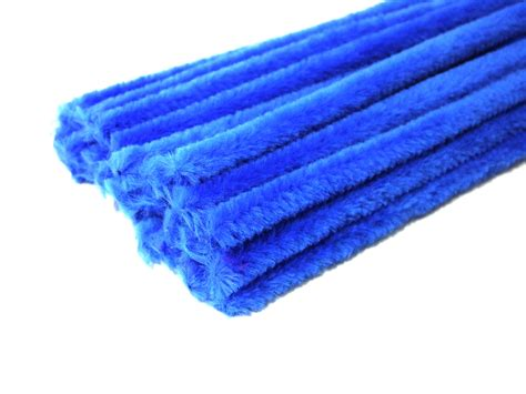 luxury ocean blue chenille pipe cleaners art craft factory