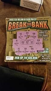 Scratch Off Lottery Tickets Non Winning Losing ...