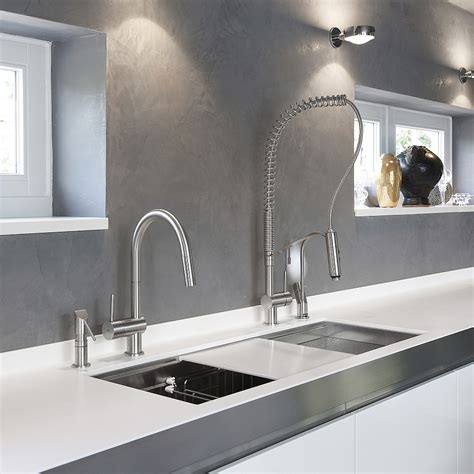 Kitchen Wall Shelves Ideas - exquisite kitchen faucets merge italian design with elegant aesthetics