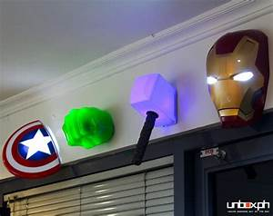 beautifull 3d marvel wall lights With kitchen cabinets lowes with 3d wall art nightlight spiderman face