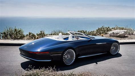 Maybach Concept Car by Fancy A 20 Foot Convertible Mercedes Unveils Luxury
