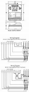 Cycle Sensor Pump Monitor  Wiring Diagram  3ph   U2013 Cycle