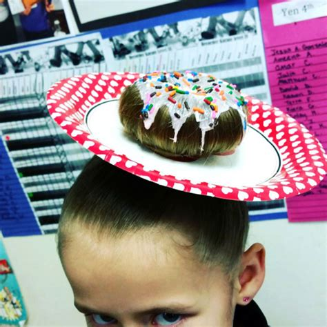 25 Clever Ideas For Wacky Hair Day At School