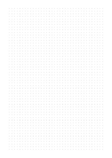 grey dotted paper template printable