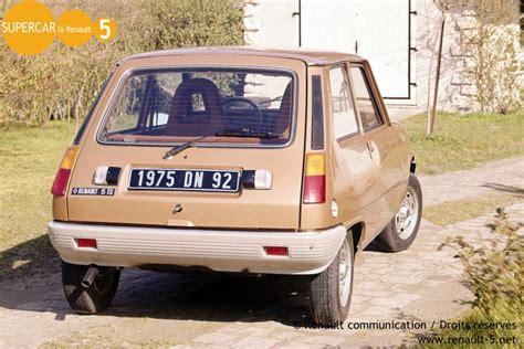 siege auto a l avant renault 5 ts 1975 1981 tout sur la renault 5