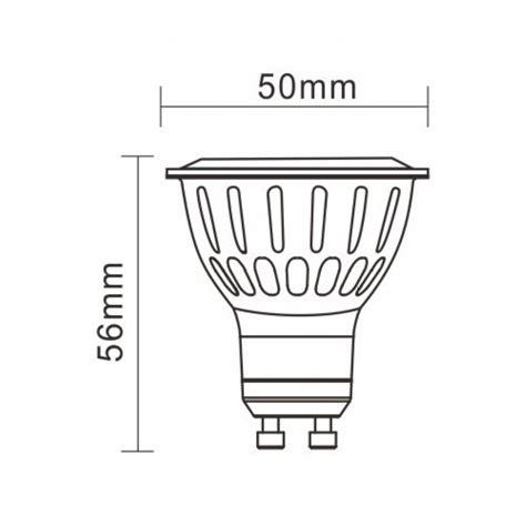 Lada Led Gu10 by 7w 230v Gu10 830 Cob Led