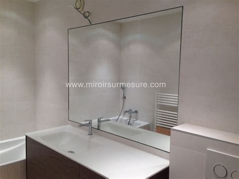 credence verre salle de bain cr 233 dence de cuisine mur de miroir sur mesure en image