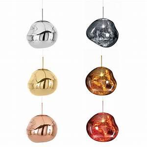 Lampe Rose Gold : tom dixon melt lampe copper ~ Teatrodelosmanantiales.com Idées de Décoration