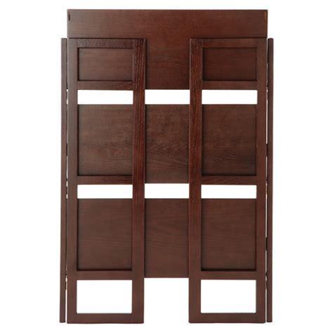 Folding Bookshelf  Java Solid Wood Stackable Folding