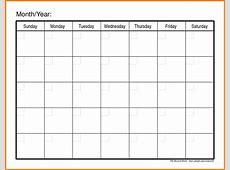 7+ fill in calendar template points of origins