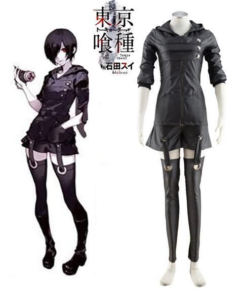 Free Shipping Tokyo Ghoul Touka Kirishima Ghouls Fighting Uniform Anime Cosplay Costume-in ...