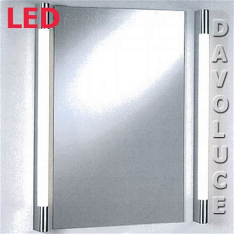 vanity 2 19w led wall light from davoluce lighting