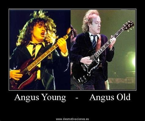 Acdc Meme - angus young old pun meme funny things dc pics angus young funny ac rock metal memes photo