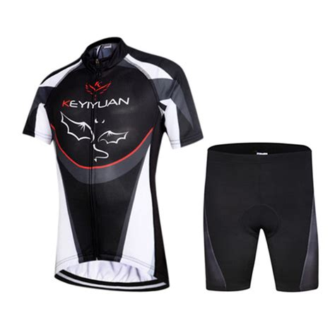 bike clothing 2016 children bat style summer cycling jersey shorts