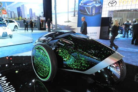interesting single seat concept car  toyota