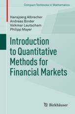 Engineering Change Order Introduction To Quantitative Methods For Financial Markets