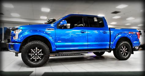 2014 Ford F150 V6 Ecoboost by Levelled 3 5l V6 Ecoboost Powered 2015 Quot Blue