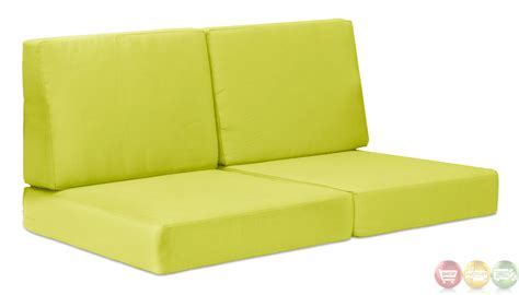 Outdoor Sectional Sofa Cushions cosmopolitan green sofa cushions zuo modern 701852 modern