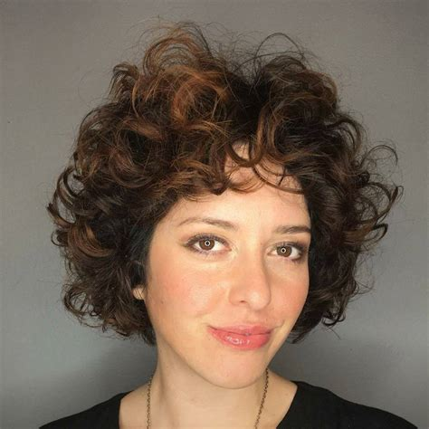 curly bob ideas top  hairstyles   type