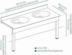 Lavabo Handicapé Norme. lavabo pmr 65 x 52 cm p1644. lavabo ...