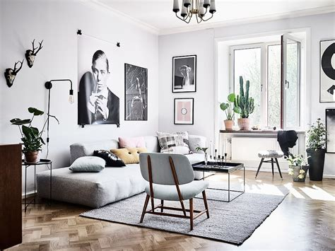 home interior inspiration woonkamer met een mix van scandinavische en vintage meubels inrichting huis com