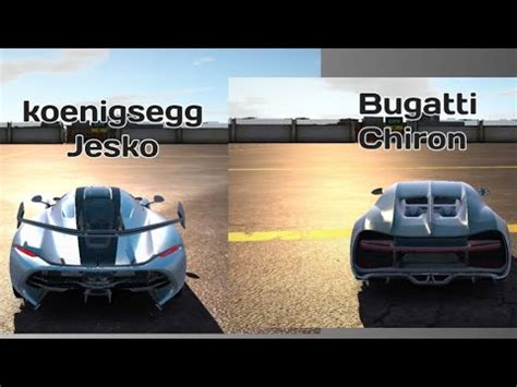 Bugatti chiron vs koenigsegg jesko drag race  the crew 2 inner drive sharefactory™ store.playstation.com/#! Koenigsegg Jesko vs Bugatti Chiron UCDS - YouTube