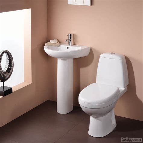 wc sink bathroom suite toilet basin sink wc close coupled toilet full pedestal two piece ebay