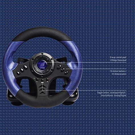 Supporto Per Volante E Pedaliera by Hama 113754 Kit Volante E Pedaliera Per Pc Ebay