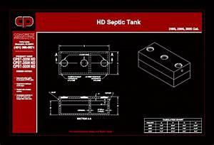 Septique Tank Dwg Block For Autocad Designs Cad