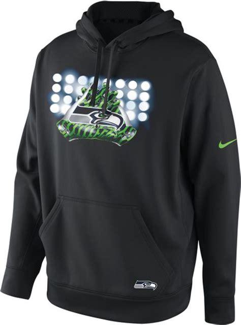 nike mens sweatshirt thermafit seattle seahawks hoodie