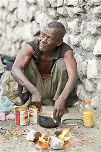 Haitian Man Who Lives In Roadway Berm Finds Help Hard To
