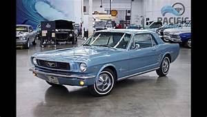 1966 Ford Mustang Blue