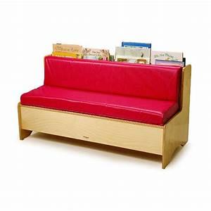 Canapé Avec Rangement : canap de lecture avec rangement rm leduc cie ~ Teatrodelosmanantiales.com Idées de Décoration