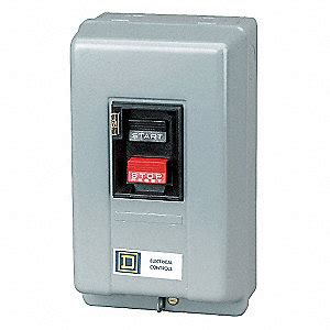 square d push button manual motor starter enclosure nema rating 1 18 s ac nema size m 0