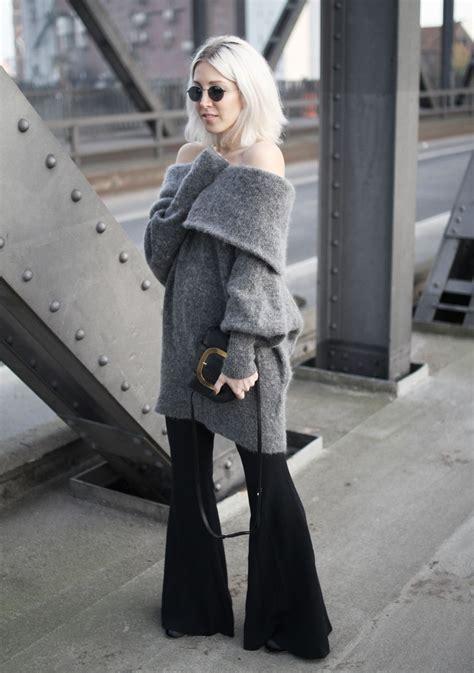 outfit post  shoulder und flared stryletz