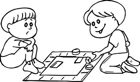 board game loss coloring page wecoloringpagecom