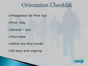Employee Orientation Ppt Final
